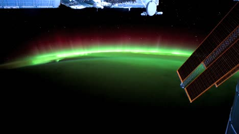 Aurora-Borealis-from-Space